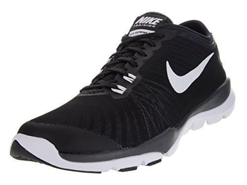 Nike Damen Wmns Flex Supreme TR 4 Turnschuhe Black (Schwarz / Weiß-Anthrazit-Stealth)