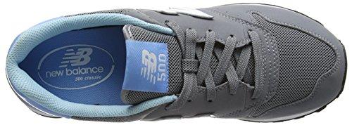New Balance Gm_gw500v1, Scarpe da Ginnastica Basse Donna Grigio (Grey/Blue)