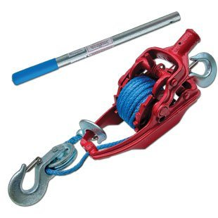 3-ton-ratchet-puller-with-35-of-5-16-amsteel-blue-by-wyeth