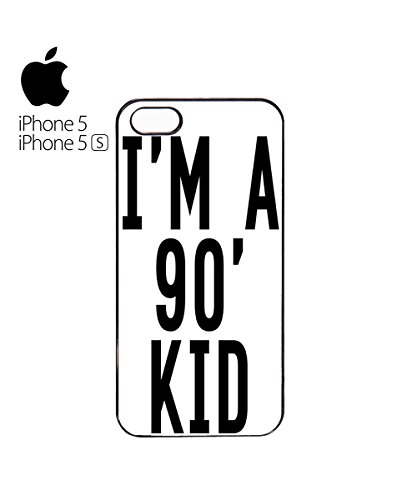 I'm a 90's Kid Mobile Phone Case Cover iPhone 6 Plus + White Blanc