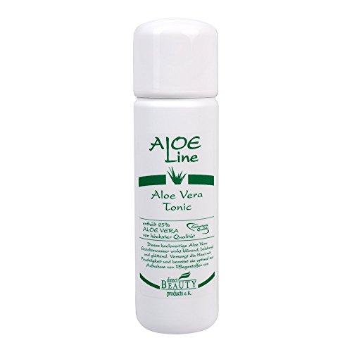 """Aloe Vera Gesichtswasser """"ALOE Line"""", Tonic, für jeden Hauttyp, ohne Parabene, 200ml"""