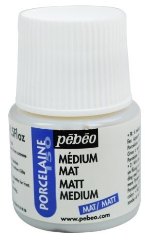 Pebeo Porcelaine 150 Mattmedium, 45ml, Transparent