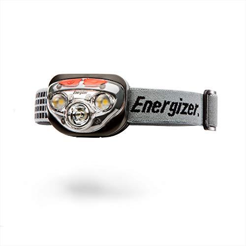 Energizer Kopflampe Vision HD+ Focus Headlight (inkl. 3xAAA, bis zu 300 Lumen, 85m Reichweite wetterfest IPX 4)