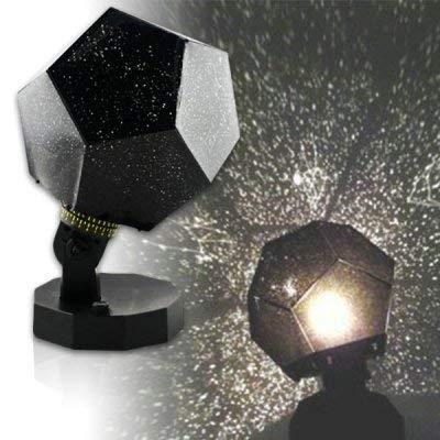 DIVISTAR Himmelslampe mit Sternen-Projektor, Romantisches Astro Planetarium