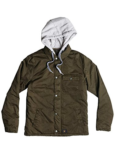 DC Hoodium Jacket military olive / vert Taille military olive/vert