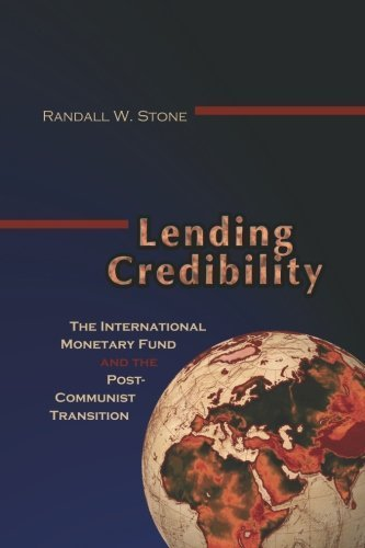 Lending Credibility: The International Monetary Fund and the Post-Communist Transition (Princeton Studies in International History and Politics) by Randall W. Stone (2002-07-14) par Randall W. Stone