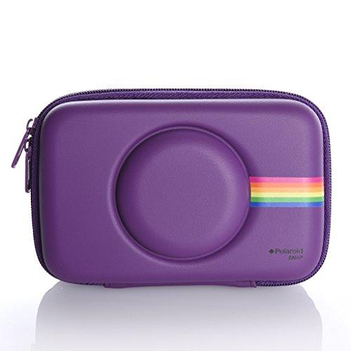 Polaroid - custodia in acetato di vinile per fotocamera digitale istantanea con stampante polaroid snap (viola)