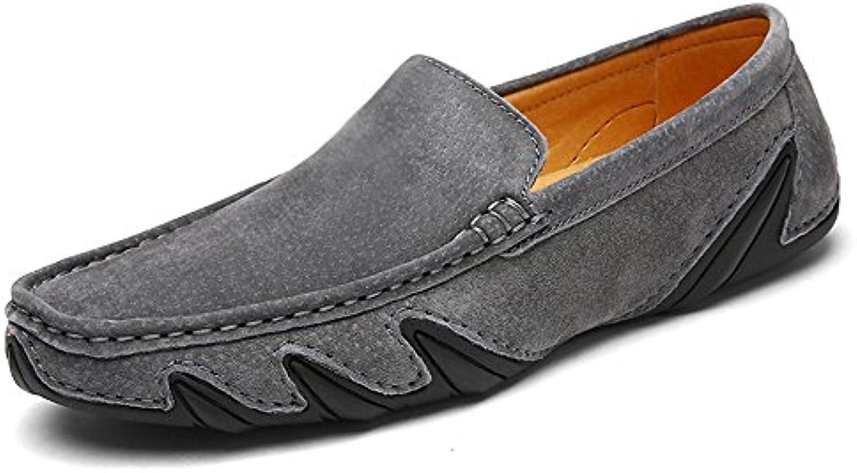 Frühling und Sommer Krake Männer Bohne Schuhe Retro Männer Schuhe Schuhe handgemachte Naht weisshe Männer Schuhe