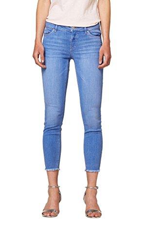 edc by ESPRIT Damen Skinny Jeans 068CC1B015, Blau (Blue Light Wash 903), W28 (Herstellergröße: 28/26)
