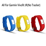 #9: I-Smile Bands for Garmin vivofit JR, Replacement Wristband with Secure Clasps Garmin vivofit JR Only(No Tracker, Replacement Bands Only)
