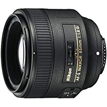 Nikon 85 mm f/1.8G Auto Focus-S NIKKKOR Objektiv für Nikon Digital SLR Kameras, nur Objektiv, schwarz (Generalüberholt)