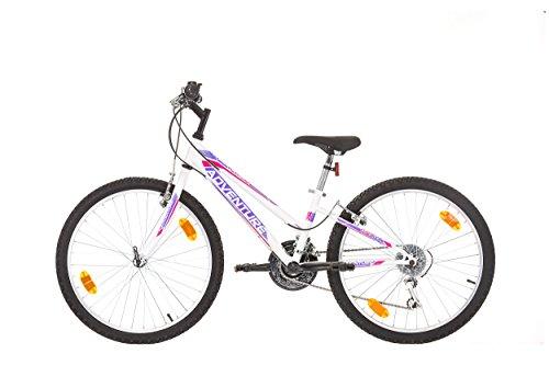 """24"""" pollici, CoollooK, ADVENTURE, prodotto EU, Jugend Bicicletta, Mauntain Bike, Cycling bici da donna, bicicletta per bambini, Bambini Ragazza, SHIMANO 18 velocità"""