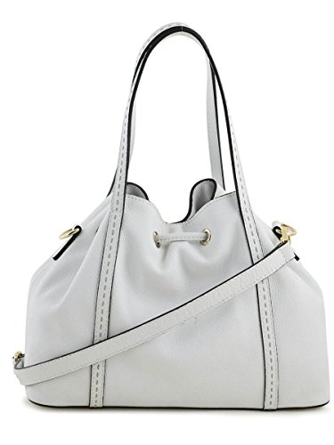 Sac bourse Tradition cuir TRADITION Blanc