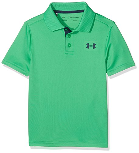 Under Armour Jungen Performance Polo Kurzarmshirt, Jade, XL (Under Armour Golf Shirts Grün)