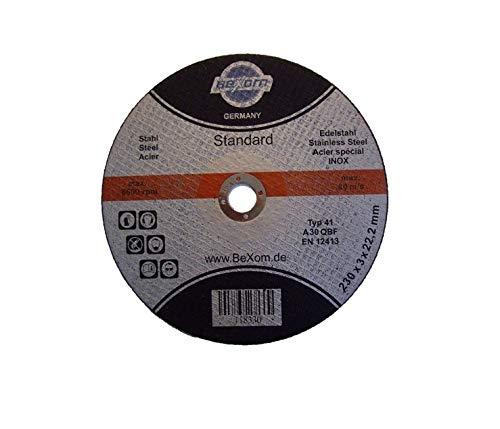 Olbrich-Industriebedarf Trennscheibe 230x3 mm 10 Stück INOX, Edelstahl & Stahl, Metall, Eisen