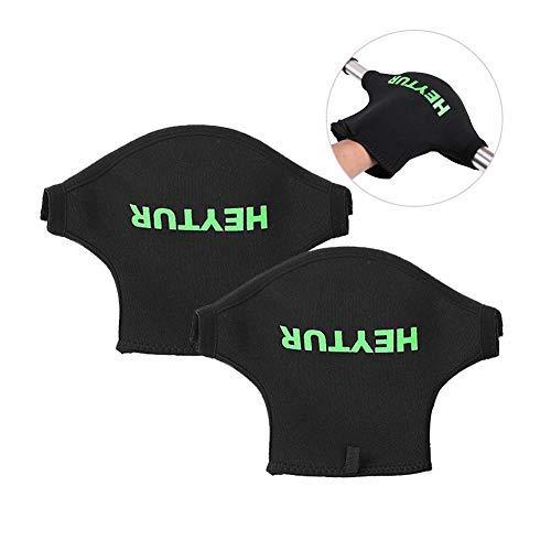 Descripción:  1. Nombre del producto: Kayak profesional protector engrosamiento impermeable resistente al desgaste guantes de paleta  2. Material: material de buceo ambiental  4. Tamaño: longitud de la manga de los 4CM, longitud de los 2CM, altur...