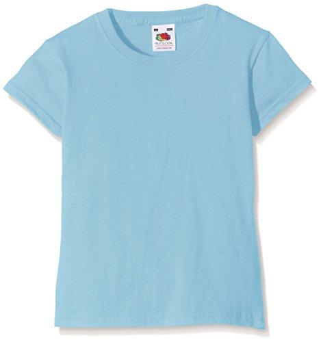 Fruit of the Loom SS079B, Camiseta Para Niños, Azul (Sky Blue), 3/4 Años (Talla Fabricante: 22)