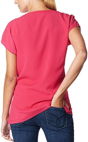 ESPRIT Maternity Damen Umstandsbluse D84317 Rot (Berry 628)