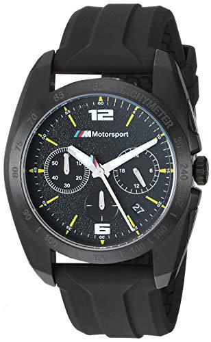 BMW Herren analog Japanisch Quarz Uhr mit Silikon Armband BMW2002