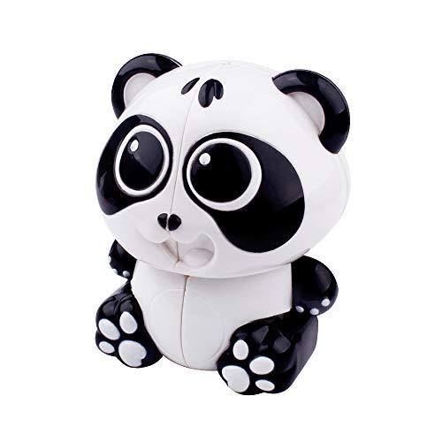 Lecc Spielzeug Panda Cubes 2X2x2 Zauberwürfel Glatte Geschwindigkeit Verdreht 3D Puzzle Spiel Erwachsene Dekompression Bildung Aufkleber Puzzle Put Lernspielzeug