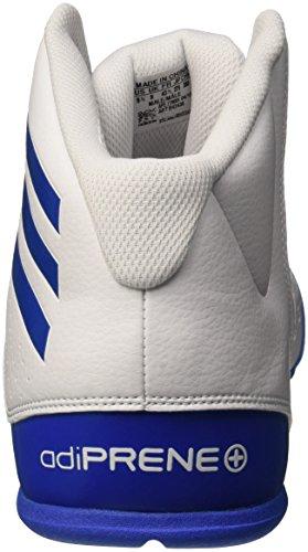 adidas Herren Nxt Lvl Spd Iv Basketballschuhe Blanco (Ftwbla / Azul / Ftwbla)