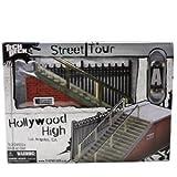 TECH DECK STREET TOUR : 3rd & Army San Francisco, CA - Tech Deck Pacour / Rampe mit einem Tech Deck - Real Skateboard