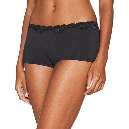 Triumph Damen Panties Touch of Modal Short, Schwarz (Black 04), Gr. 40 (Herstellergröße: M (40/42) ) -