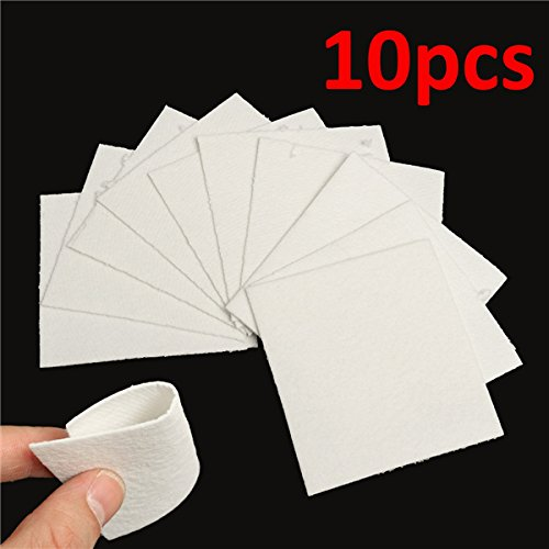 Rishil World 10 Sheets Bullseye HotPot Thinfire Kiln Paper for Glass Fusing