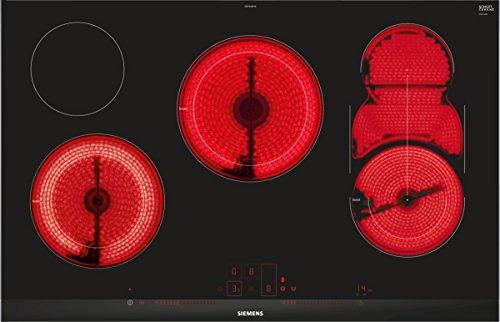 Siemens ET875LMP1D iQ500 Kochfeld Elektro / Ceran/Glaskeramik / 81,2 cm / Timer mit Ausschaltfunktion / schwarz