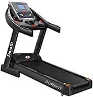 Durafit Panther 2.75 HP (5.5 HP Peak) DC Motorized Treadmill with Auto Incline