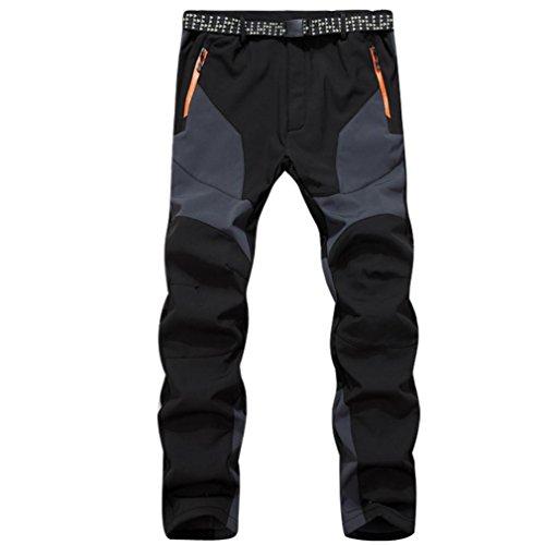 Pantalones de hombre Impermeable A prueba de viento Al aire libre Excursionismo...