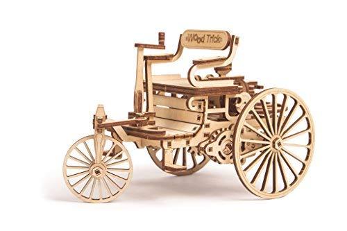 Wood Trick Holz Modell Kit - Erstes Auto (Holz-auto Modell Kits)