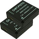2 x Dot.Foto Batterie de qualité pour Panasonic DMW-BLE9, DMW-BLG10 - 7,2v / 1025mAh - Entièrement 100% compatibles - garantie de 2 ans [Pour la compatibilité voir la description]