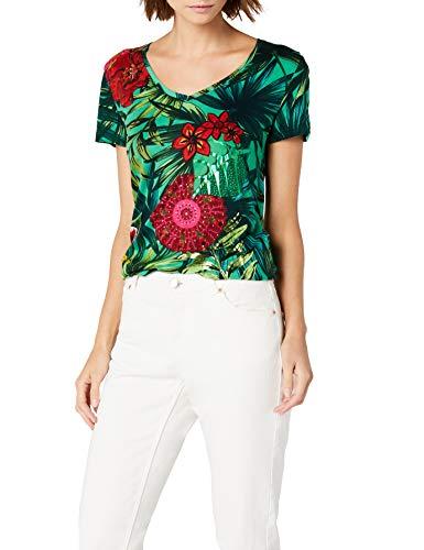Desigual TS_Carlyle, Camiseta para Mujer