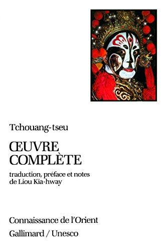 Oeuvre complète de Tchouang-tseu par From Editions Gallimard