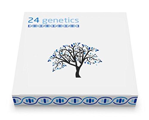 24Genetics DNA Test: Gültig für Nutrigenetik oder Sport oder Hautpflege oder Gesundheit Wohlbefinden und Abstammung