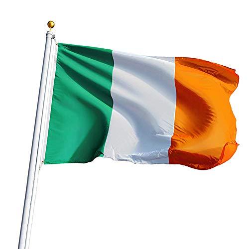 15er Pack traditionelle irische National flagge - Größe 21cm x 14cm - Premium Stoff, Hand - Ideal für Party dekoration und Zubehör für St Patrick Day, Irland Kostüm, Schulprogramm und Sportaktivität (Irische Traditionelle Kostüme)