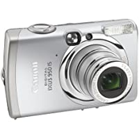 """Canon IXUS 950 IS Digital Camera - Silver (8.0MP, 4x Optical Zoom) 2.5"""" LCD"""