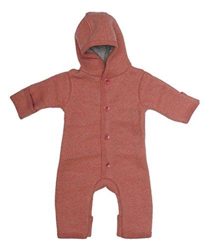 Disana Baby Walk Overall aus Bio Schurwolle kbT (74/80, rosé)