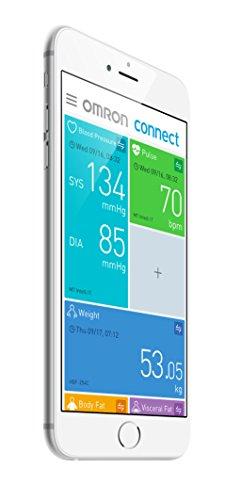 OMRON M7 Intelli IT Misuratore di Pressione da Braccio, Connessione Bluetooth per App OMRON Connect, Bracciale Intelli Wrap Cuff - 5