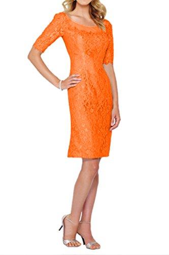 Promgirl House - Robe - Crayon - Femme Orange - Orange