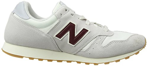New Balance 373, Baskets Homme Ivoire (Off White)
