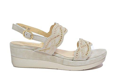 Melluso Sandali zeppa dune scarpe donna R7735 38