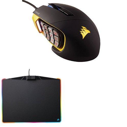 eef98acd949 Corsair Gaming SCIMITAR Pro RGB Gaming Mouse; Backlit RGB LED; 16000 DPI;  Yellow