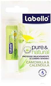 Labello - Pure & Natural, Camomilla & Calendula - 4.8 g