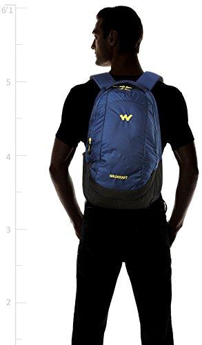 Wildcraft Turnaround Polyester 27 Ltrs Blue Laptop Bag (8903340000000) Image 6