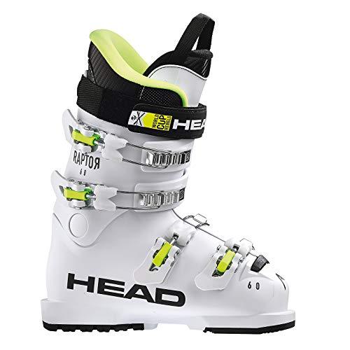 HEAD Kinder Skischuhe Raptor 60 White Weiss (100) 27,5