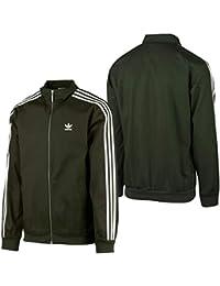 Adidas Co Woven Track Chaqueta, Hombre, Schwarz (Night Cargo), Small