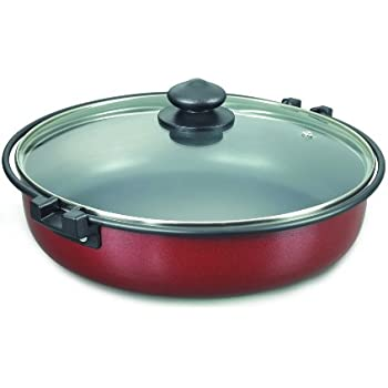 Prestige Omega Deluxe Induction Base Non-Stick Round Multi Pan, 260mm