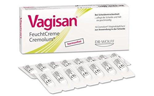 Vagisan FeuchtCreme Cremolum hormonfrei Spar-Set 2x16St. Zur Linderung der Beschwerden bei Scheidentrockenheit.